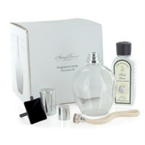 Ashleigh & Burwood Ashleigh&Burwood fragrance lamp discovery kit clear + 180ml fresh linen fragrance oil