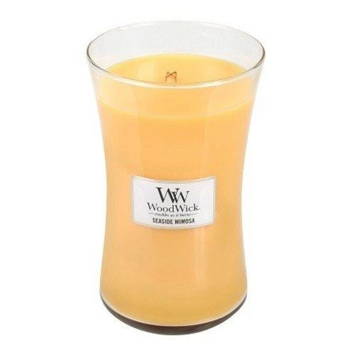 WoodWick WoodWick Large Candle Seaside Mimosa
