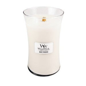 WoodWick WoodWick Large Candle Baby Powder