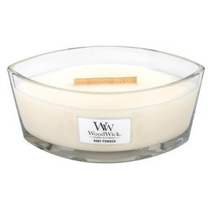 WoodWick WoodWick baby powder hearthwick ellipse