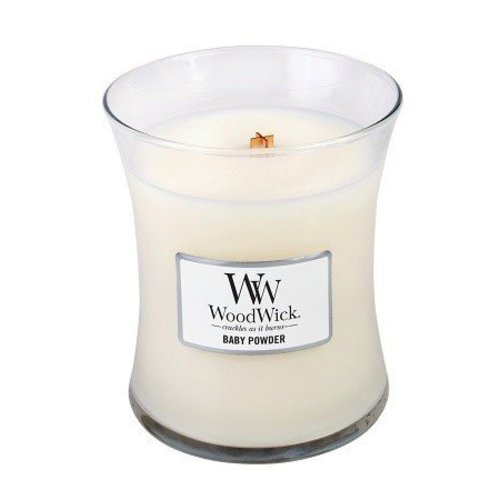 WoodWick WoodWick Medium Candle Baby Powder