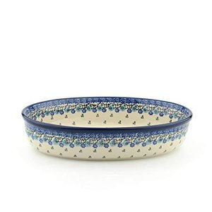 Bunzlau Castle Bunzlau Castle oval ovendish Royal Blue 35x24x7,5