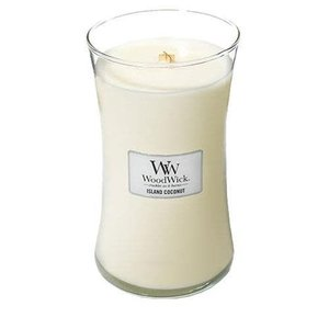 WoodWick WoodWick Large Candle Island Coconut