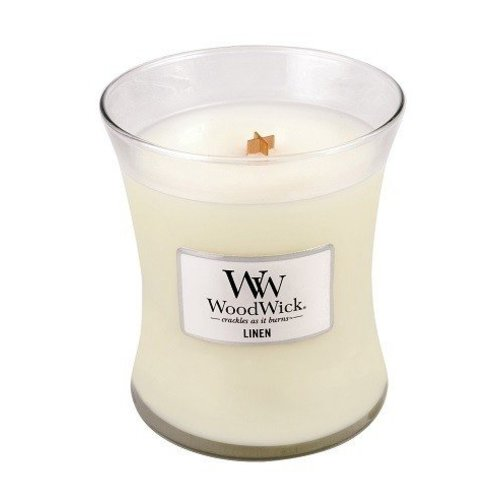 WoodWick WoodWick Medium Candle Linen