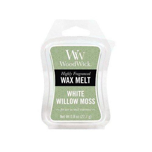 WoodWick WoodWick Mini Wax Melt White Willow Moss
