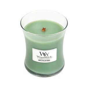 WoodWick WoodWick Medium Candle White Willow Moss