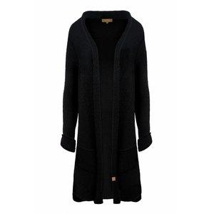 Zusss Zusss heerlijk lang vest zwart
