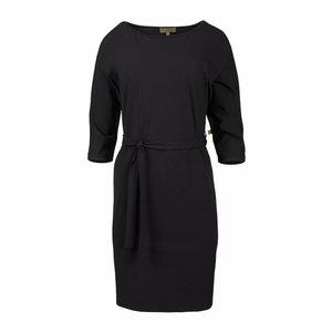 Zusss Zusss sjiek jurkje met ceintuur zwart