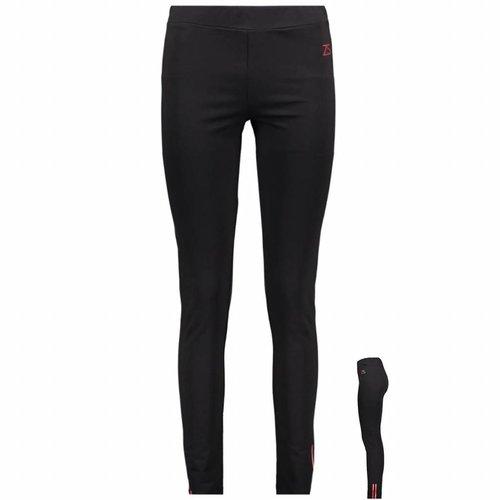 ZOSO ZOSO Ellis tight pant with print black/red