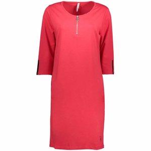 ZOSO ZOSO Jennifer sporty dress with tech print red/black