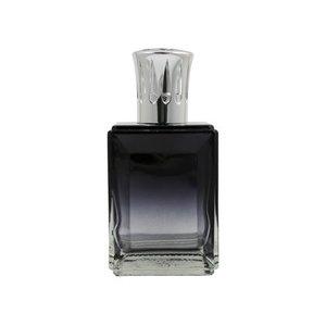 Ashleigh & Burwood Ashleigh & Burwood fragrance lamp obsidian two tone black & clear