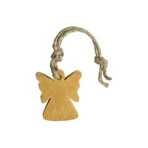 MIJN STIJL MIJN STIJL zeephanger engel goudkleurig parfum patchouli ylang ylang