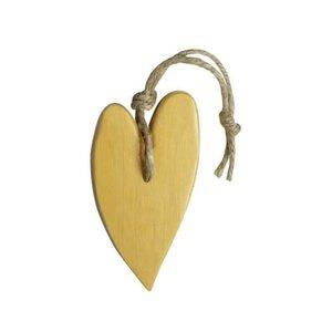 MIJN STIJL MIJN STIJL Zeephanger Hart XL goudkleurig parfum patchouli ylang ylang