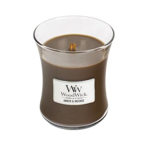 WoodWick WoodWick Medium Candle Amber & Incense
