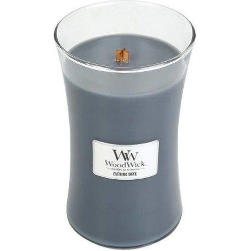 WoodWick WoodWick Large Candle Evening Onyx