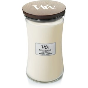 WoodWick WoodWick Large Candle White Tea & Jasmine