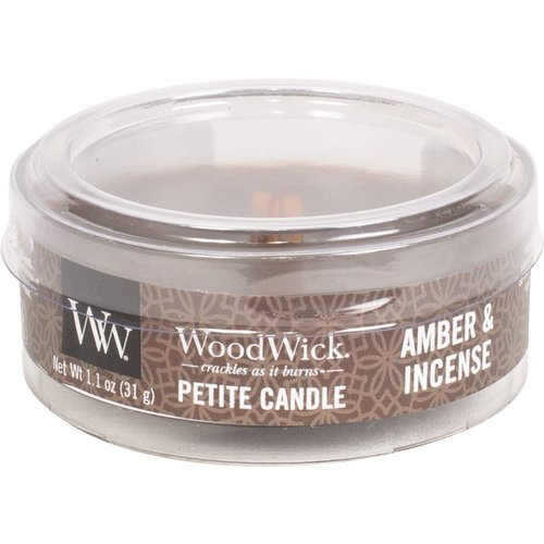 WoodWick WoodWick Petite Travel Candle Amber & Incense