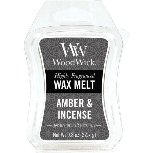WoodWick WoodWick Mini Wax Melt Amber & Incense