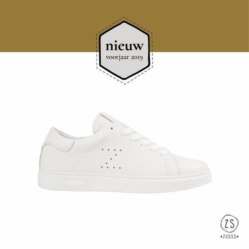 Zusss Zusss kekke sneakers wit
