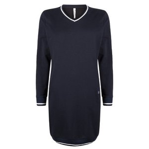ZOSO ZOSO Sweat tunic with piping navy/off white
