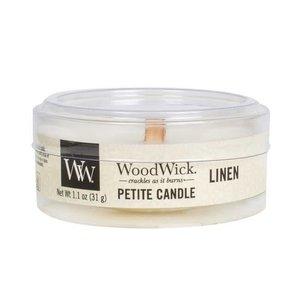 WoodWick WoodWick Petite Travel Candle Linen