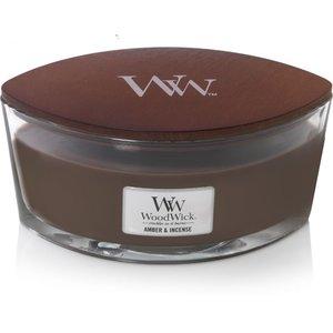 WoodWick WoodWick Ellipse HearthWick Amber & Incense