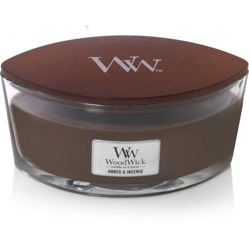WoodWick WoodWick Ellipse HearthWick® Amber & Incense