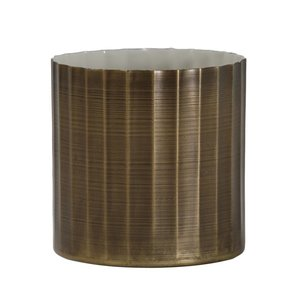 PTMD PTMD Lyan Brass iron pot ribbed round S