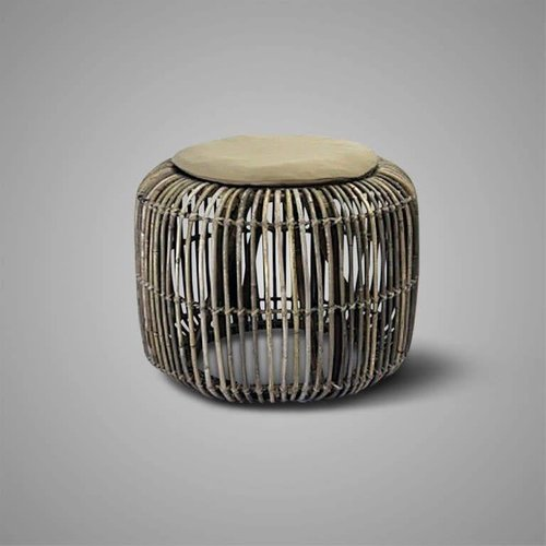 Brynxz Collections Brynxz stool rattan natural