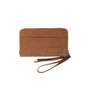 Zusss Zusss nice wallet brown scale