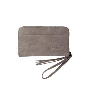 Zusss Zusss leuke portemonnee warm grijs