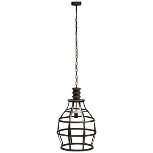 PTMD PTMD Denver Metal hanging lamp open frame