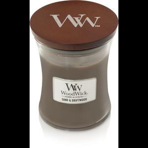 WoodWick WoodWick Medium Candle Sand & Driftwood