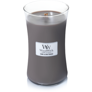 WoodWick WoodWick Large Candle Sand & Driftwood