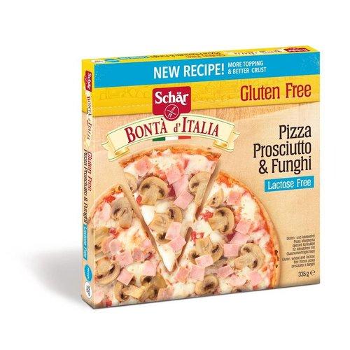 Pizza Prosciutto & Funghi (lactosevrij)