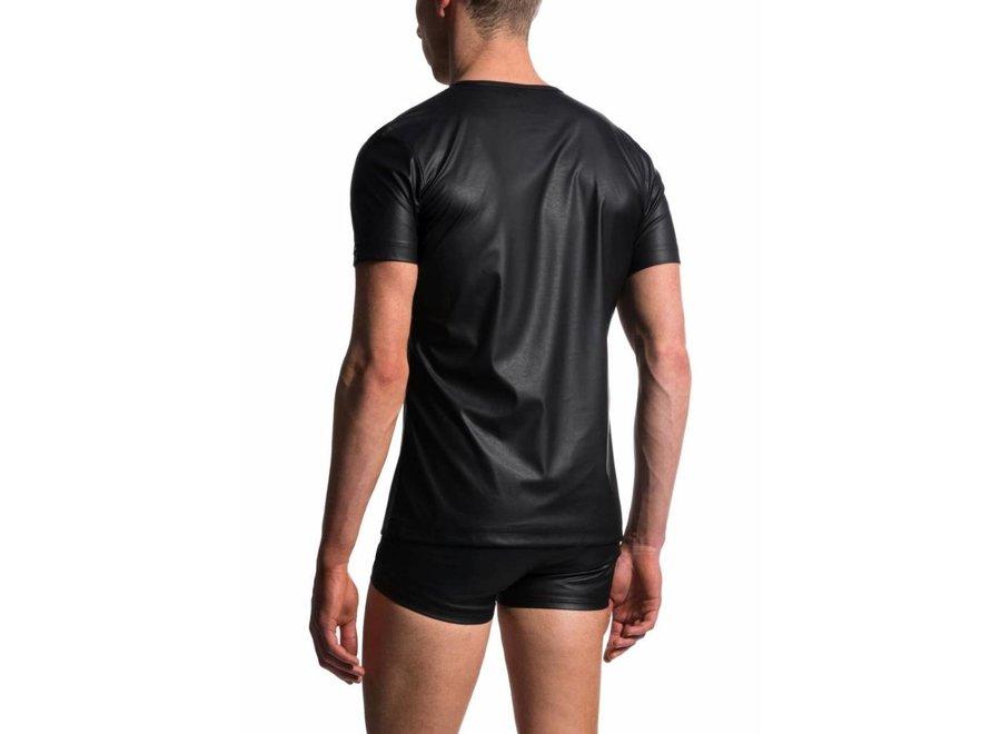 M104 T-Shirt V-Neck Black