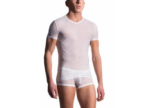 M101 T-Shirt V-Neck White
