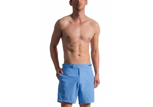 Olaf Benz BLU 1662 Shorts Sky & Beachsandals for free