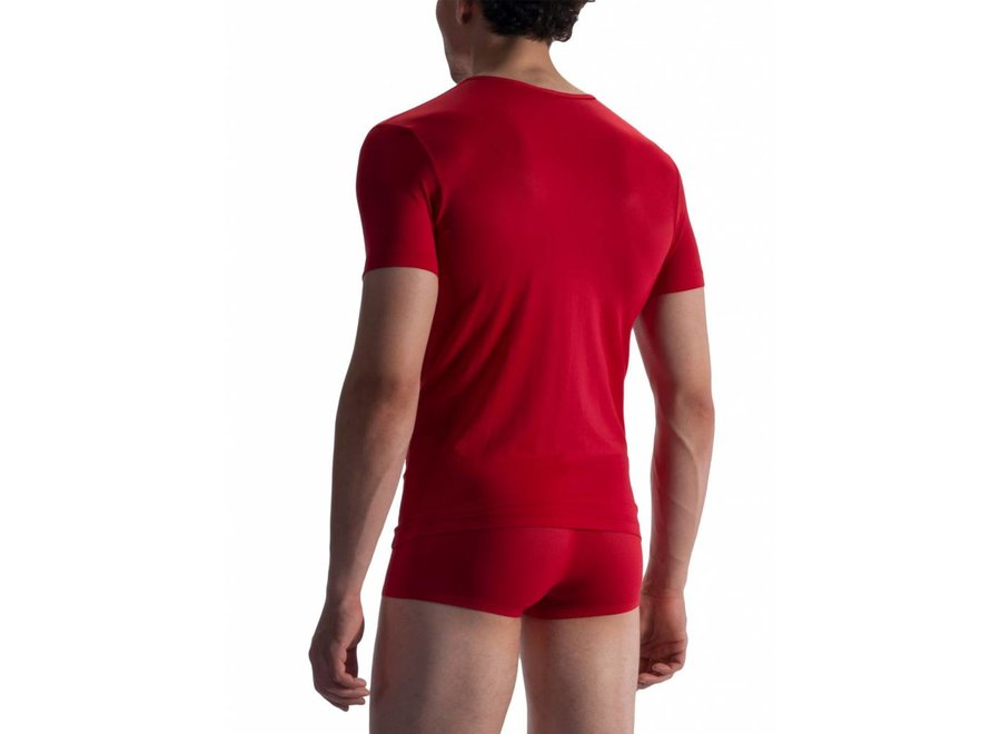 RED 1864 V-Neck (Low) Red