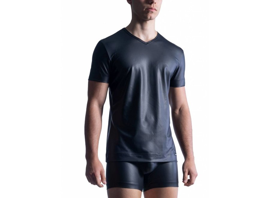 M510 V-Neck Tee (Reg) Black