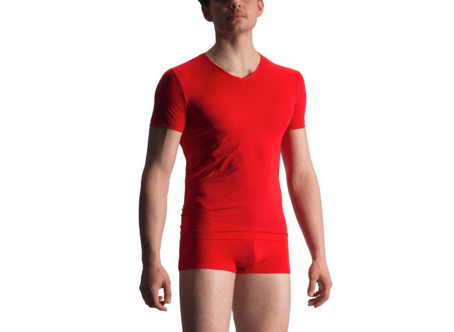 RED 1916 V-Neck (Reg) Red