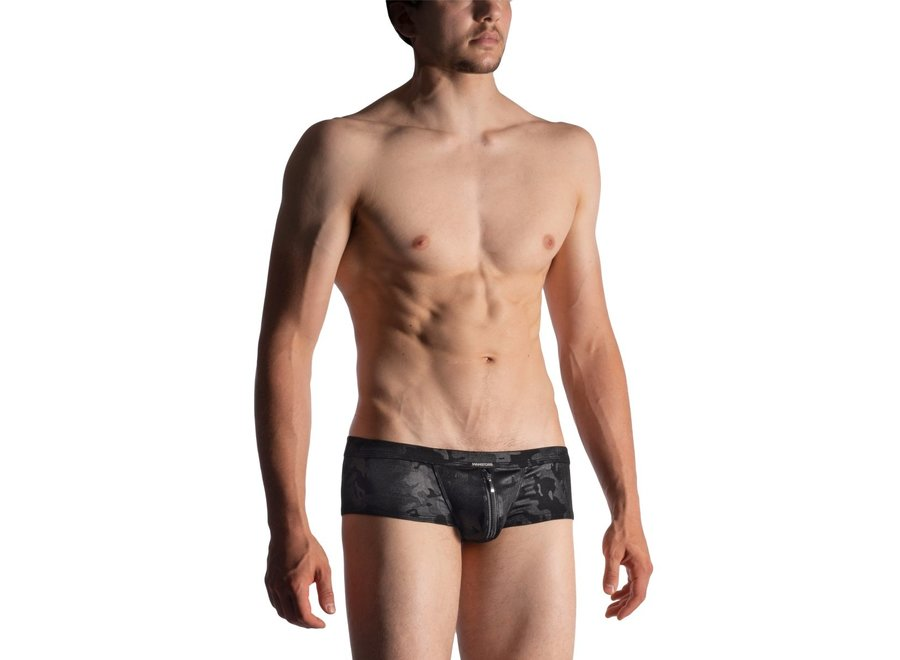 M950 Zipped Pants Black