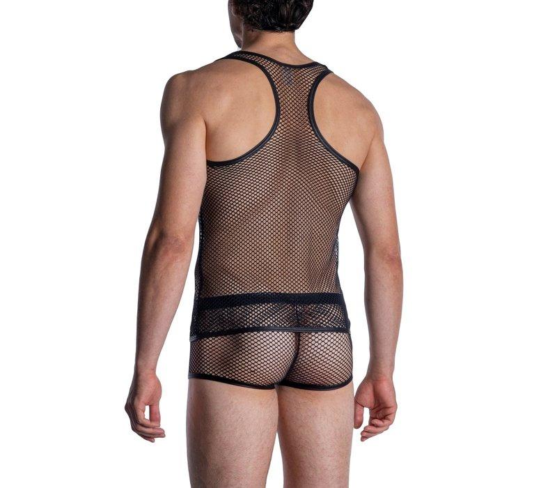 MANSTORE M964 Athletic Shirt Black