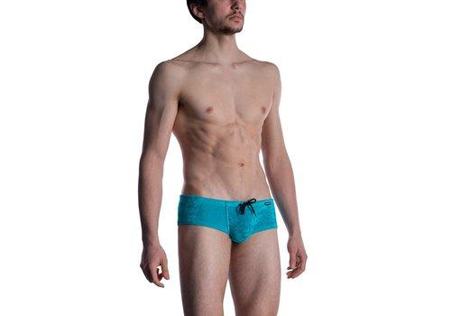 MANSTORE M2012 Beach Hot Pants Petrol
