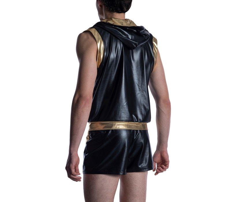 MANSTORE M2011 Zipped Hoody Black