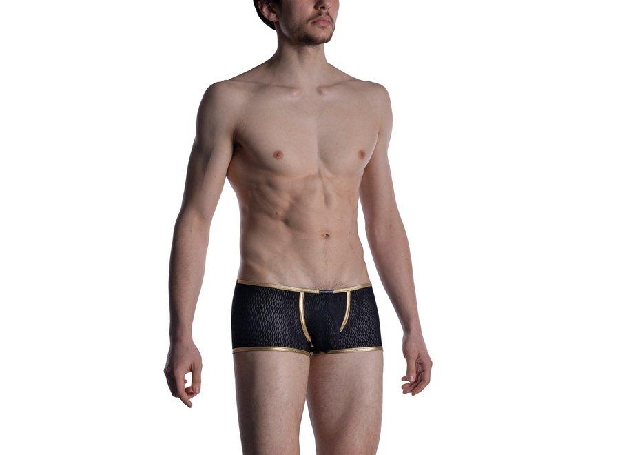 M2008 Bungee Pants Black-Gold