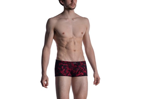 MANSTORE M2006 Micro Pants Black-Red