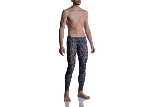 MANSTORE M2005 Bungee Leggings Grey-Black