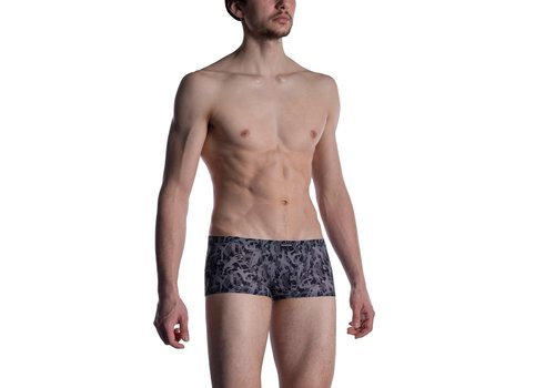 MANSTORE M2005 Micro Pants Grey-Black