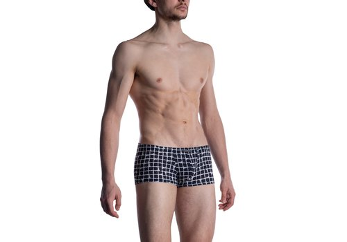 MANSTORE M800 Micro Pants White-Black